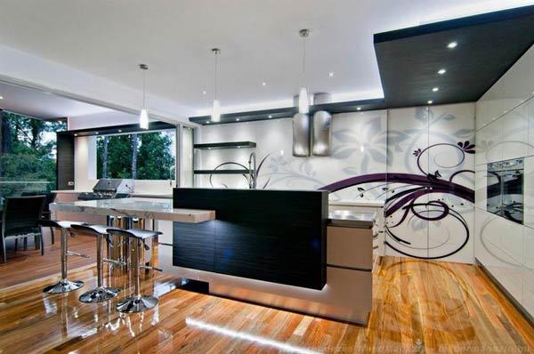 طراحی فضای باز برای آشپزخانه