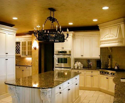 استفاده از رنگ فید برای آشپزخانه های مدرن
